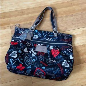 Authentic Rare Coach Poppy handbag